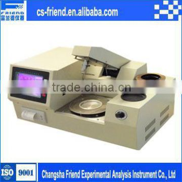 Cleveland Open Cup Flash Point meter,Open Cup Flash Point test apparatus Conforms to ASTM D92 and related specifications