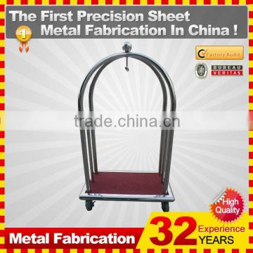 kindle 2014 new durable folding professional customized folding shopping cart pink for sale