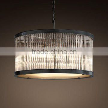 cheap modern crystal hanging lamp for kitchen
