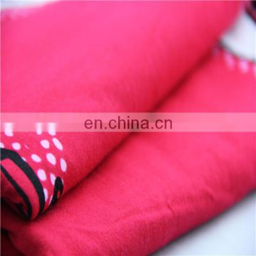32s cotton jersey printed fabric