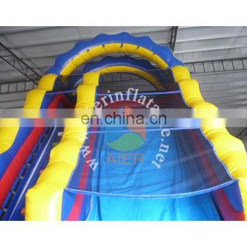 Aier inflatable water slide summer water slide with pool EN14960
