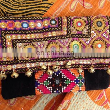 Excellent Quality Hot Sell Indian Vintage Banjara Clutch Purse designer evening clutch
