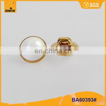 ABS Gold Plating Pearl Shank Button BA60393