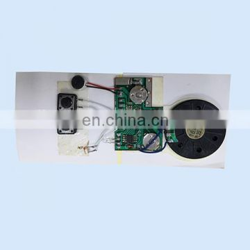 Recordable Sound Chip Programmable Music Talk Musical For Greeting Card