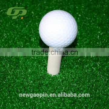Wholesale green grass synthetic turf 3D golf swing mat for golf training