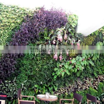 hot sale greenery wall artificial plant wall artificial fake wall hang plant