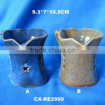 Ceramic oil burners