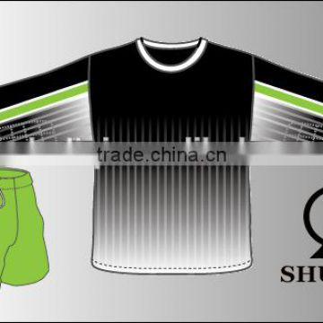 New listing fitted mens soccer uniforms football wear tracksuit wholesale  dry fit cool design soccer man tracksuit of Custom soccer uniforms from  China ... 744bf0637