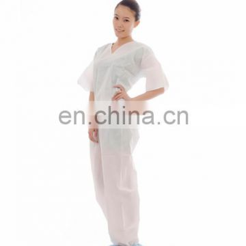 hot-selling one time use pajamas kit for hospital use from Xiantao factory with competitive price