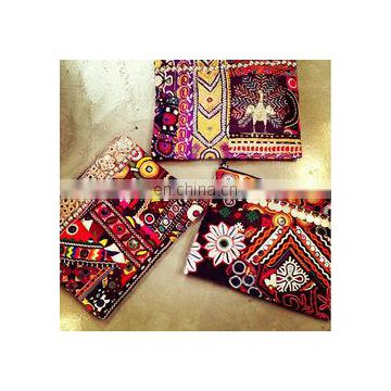 Indian Banjara Clutch Vintage Tribal Banjara clutch kutch embroidery ethnic Bags Purse Handmade Designer