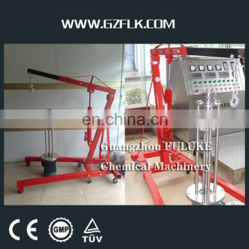 FULUKE 10-100L Pneumatic Lifting Moveable High Shearing Disperser homogenizer machine