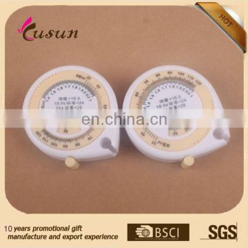 wholesale body BMI tape measure for promotional gift