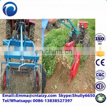 Mini tractor potato harvester Onion harvester for sale Peanut combine harvester