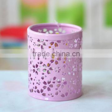 Hot selling metal pen container/pencil holder/pen stand