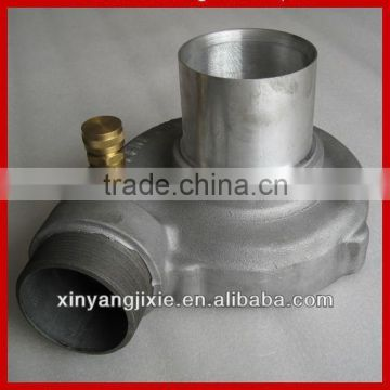 high quality CNC machining SUS304/304/316/316L stainless steel water hydraulic pump parts pump housing