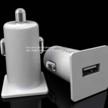 Single Port Car Charger 5V 2100mA for cellphone,iphone,IPAD...