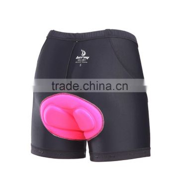 BEROY Women's Cycling Shorts With 3D Gel Pad, Custom Bicycle Shorts For Wholesale