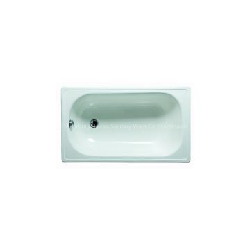 Enameled steel bathtub lowest price made in china