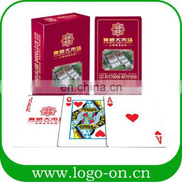 Portable Entertainment Anywhere Paper Material Spanish Adult Playing Cards Custom Wholesale