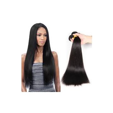Silky Straight 16 Inches Synthetic Hair Wigs Mixed Color Human Hair Bright Color