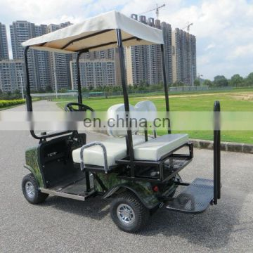 Classic red golf Electric Carts, golf cart four seater with curtis controller and DC motor | AX-A3-20