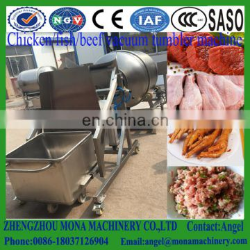 Automatic vacuum fish tumbler machine / meat tumbler machine