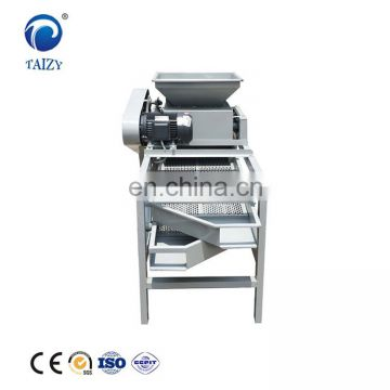 Factory price automatic almond shelling machine