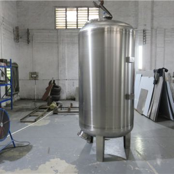Stainless Water Tank Low Pressure  Protection Recycled Water