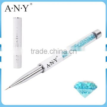 ANY Nail Art Beauty Care Liner Drawing Design Crystal Fine Nylon Hair Nail Brush                                                                         Quality Choice