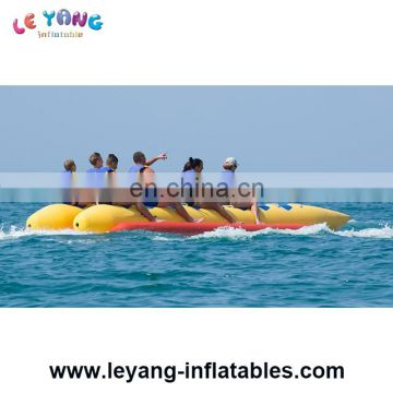 3 Seats Small Towable Banana Boat For Water Sport Games