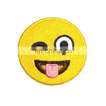 Factory wholesale cheap custom patches / 3d embroidery patch for clothing