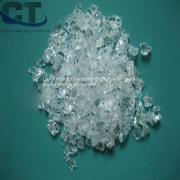 egypt nano super translucent fused silica lump electronic sealing material