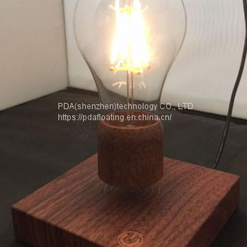 new rotating maglev floating levitating led lamp lighting