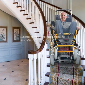 Fabip Mobility Scooter 350 lbs-Power Wheelchair-Stair Lift Electric Folding Mobility Aid-Can be as Lifting Devices,Stretcher