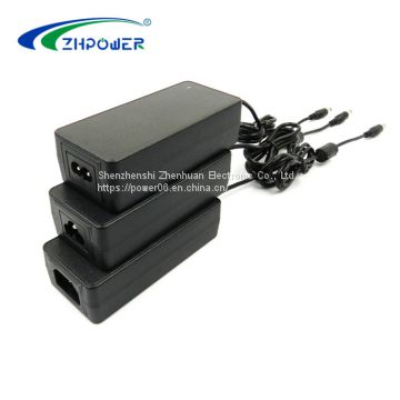 Desktop switching power supply 12V 5A 60W AC/DC adapter with UL CUL FCC CE ROHS KC PSE CCC GS SAA CB certifications