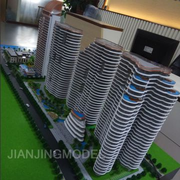 hot sale architectura model used for real estate high quality handmade craft 3D architectural model