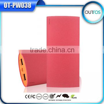 Hot Selling Battery Charger Mobile High Capacity Power Bank 13200mah