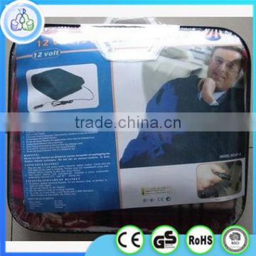 Wholesale 12v car electric heated blanket,heating blanket made in ningbo