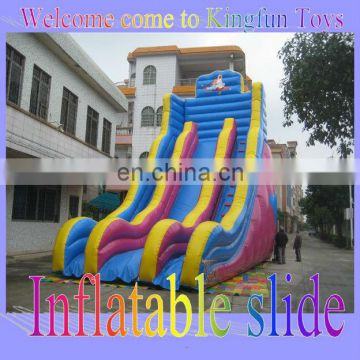 9.0Hmeter outdoor inflatable Aladdin slide toys