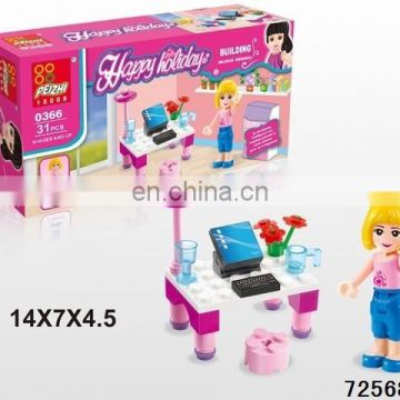 Newfangled building bricks toys animal and number building block Educational toy 2015
