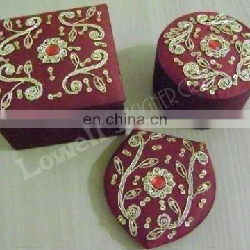 jewelery gift boxes with compct mirror