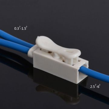 Quick-Connect Plastic LED Terminal Block Connector Cable Clamp Terminal Block Spring Connector