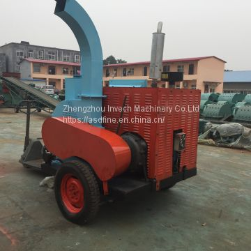 Diesel Wood Chipper Machine