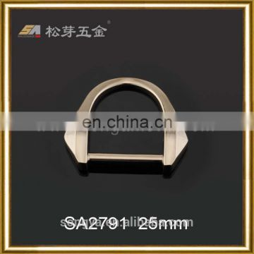 Custom Leather Handbag Metal Hardware Accessories Metal Ring Buckle, Plated Custom Metal D Ring
