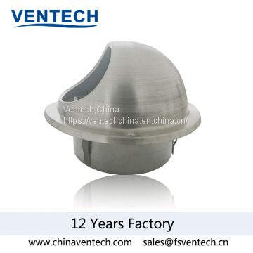 stainless  steel ball weather louver hvac venlitation