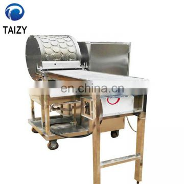 Automatic Commercial Egg Roll Skin Wrapper Maker Pastry Injera Baking Production Line Spring Roll Making Machine Price