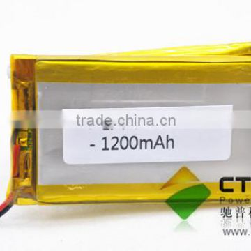 Power-Ultra Lithium Polymer Battery 503759 3.7V 1200mAh