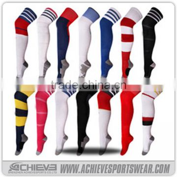 326f0799d Custom knee high football socks  striped football socks of American  Football Wear from China Suppliers - 144383364