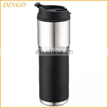 FDA 304 stainless Steel 700+200ML Metal Protein Shaker Bottle with Compartment