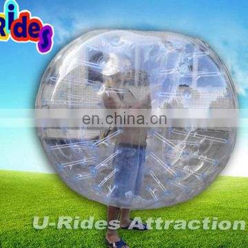 inflatable bubble football